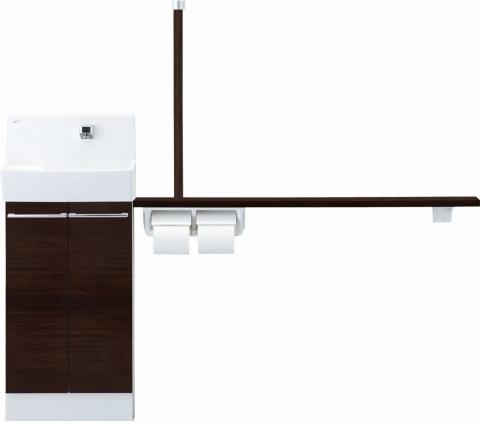 日本最大の コフレル YL-DA83STA15J トイレ手洗 ワイド (壁付) 自動水栓 手すりカウンター キャビネットタイプ (左右共通) YLDA83STA15J LIXIL リクシル INAX イナックス 手洗い器 トイレ[メーカー直送][], お茶の山麓園 40a6e516