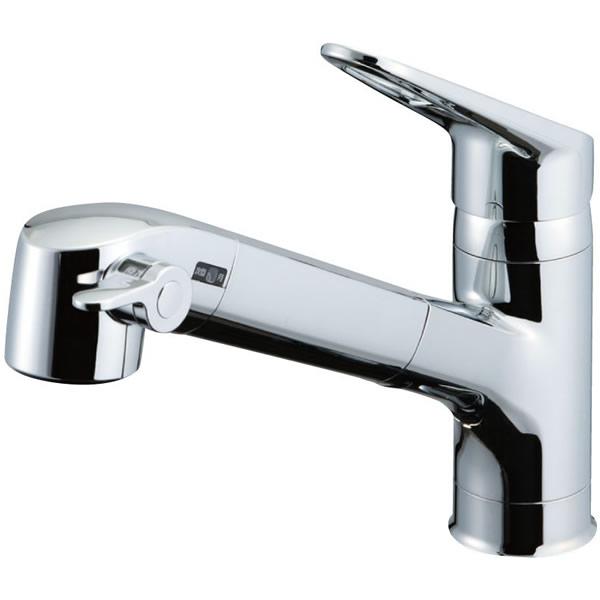 オールインワン浄水栓 JF-AB461SYX(JW) 水栓 キッチン INAX イナックス LIXIL・リクシルオールインワン浄水栓Sタイプ 浄水器内蔵水栓 ワンホールタイプ(シングルレバー) ハンドシャワー付
