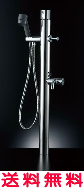 ペットも大満足!お湯が使える混合水栓仕様 【LF-932SG】 INAX イナックス LIXIL・リクシル ペット用水栓柱 キー式ハンドル付 湯側開度規制なし