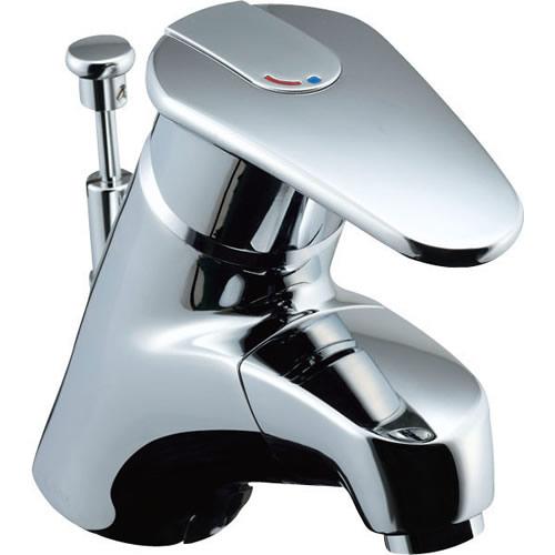 LF-A345SYXN LIXIL・INAX 洗面器・手洗器用水栓金具 アウゼ(エコハンドル) 吐水口引出式シングルレバー混合水栓 寒冷地対応 逆止弁
