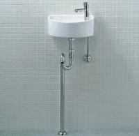 【トイレ手洗い器一式セット】【YAWL-33(S)】 INAX イナックス LIXIL・リクシル 手洗い器 壁給水・床排水(Sトラップ) 汚れが付きにくいアクアセラミック仕様【YAWL-33S】