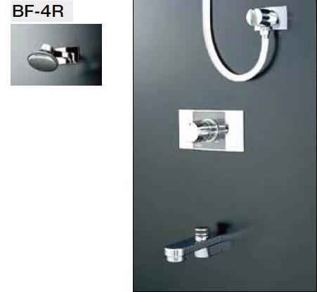 INAX・LIXIL シャワーバスセット セット品番【BF-216ME】(シャワーヘッド【BF-4R】/湯水混合栓【BF-22M】/止水栓不要/吐水口【BF-21A-19】) 水栓金具