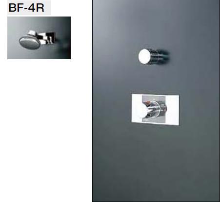 INAX・LIXIL シャワーセット セット品番【BF-112TE】(シャワーヘッド【BF-4R】/湯水混合栓【BF-25TP】/止水栓【BF-2S-13】) 水栓金具