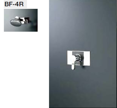 INAX・LIXIL シャワーセット セット品番【BF-116SE】(シャワーヘッド【BF-4R】/湯水混合栓【BF-23SP】/止水栓不要) 水栓金具