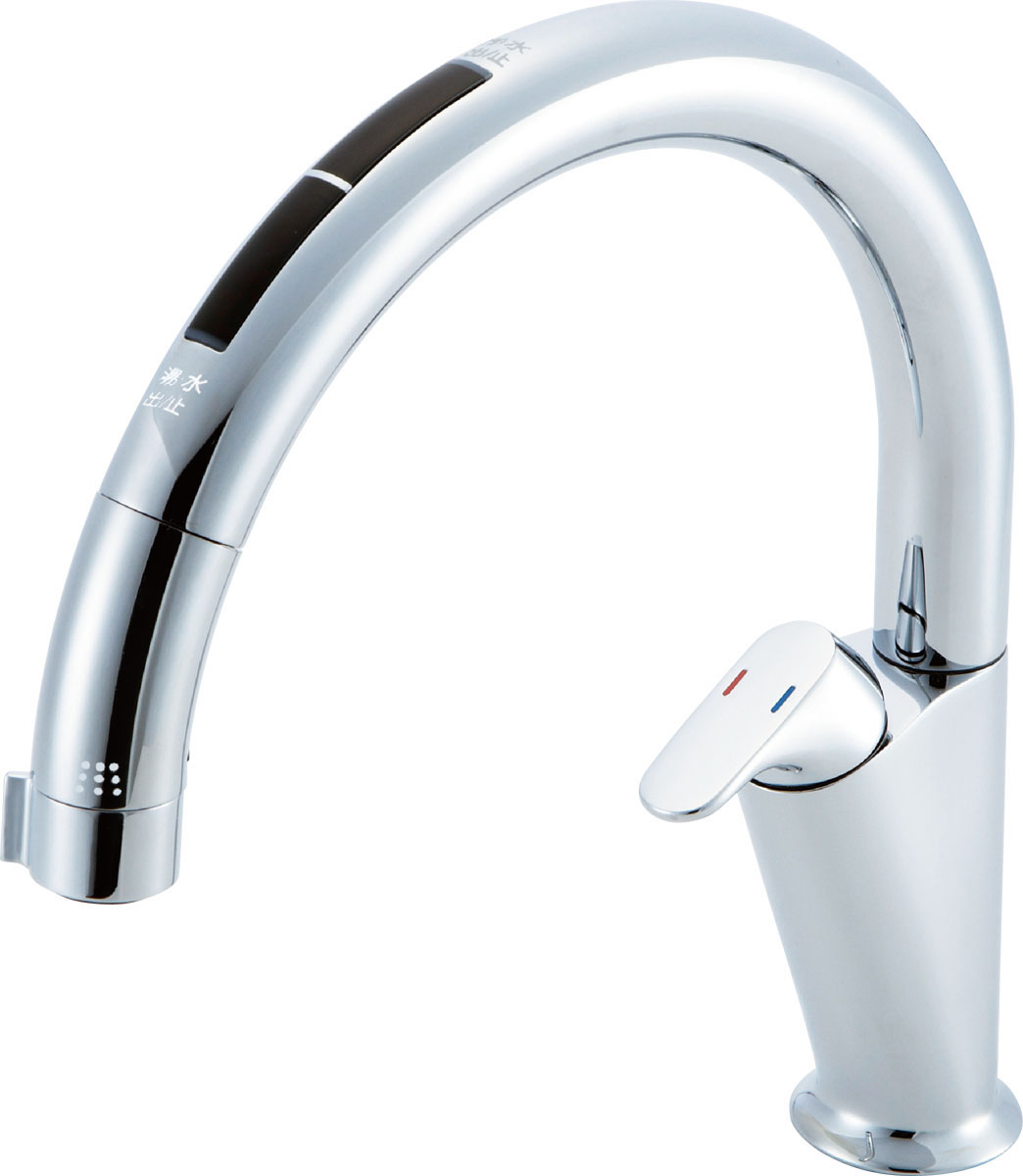 INAX LIXIL キッチン水栓 JF-NA466SU (JW) キッチン用タッチレス水栓 ナビッシュ (浄水器ビルトイン型) A6タイプ イナックス リクシル