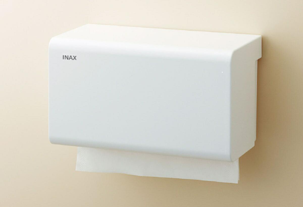 ペーパータオルホルダー 壁付形 【あす楽・在庫あり】 LIXIL リクシル KF-15U/WA ペーパータオルホルダー 壁付形 INAX イナックス アクセサリー パブリックアクセサリー KF15UWA