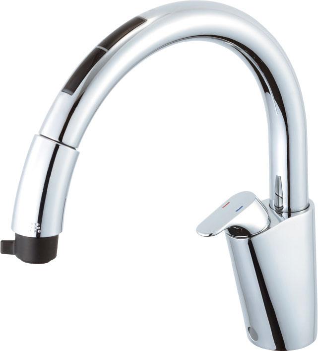 INAX LIXIL キッチン水栓 SF-NB471SXNU (寒冷地対応) キッチン用タッチレス水栓 ナビッシュ (エコセンサー付) B7タイプ イナックス・リクシル