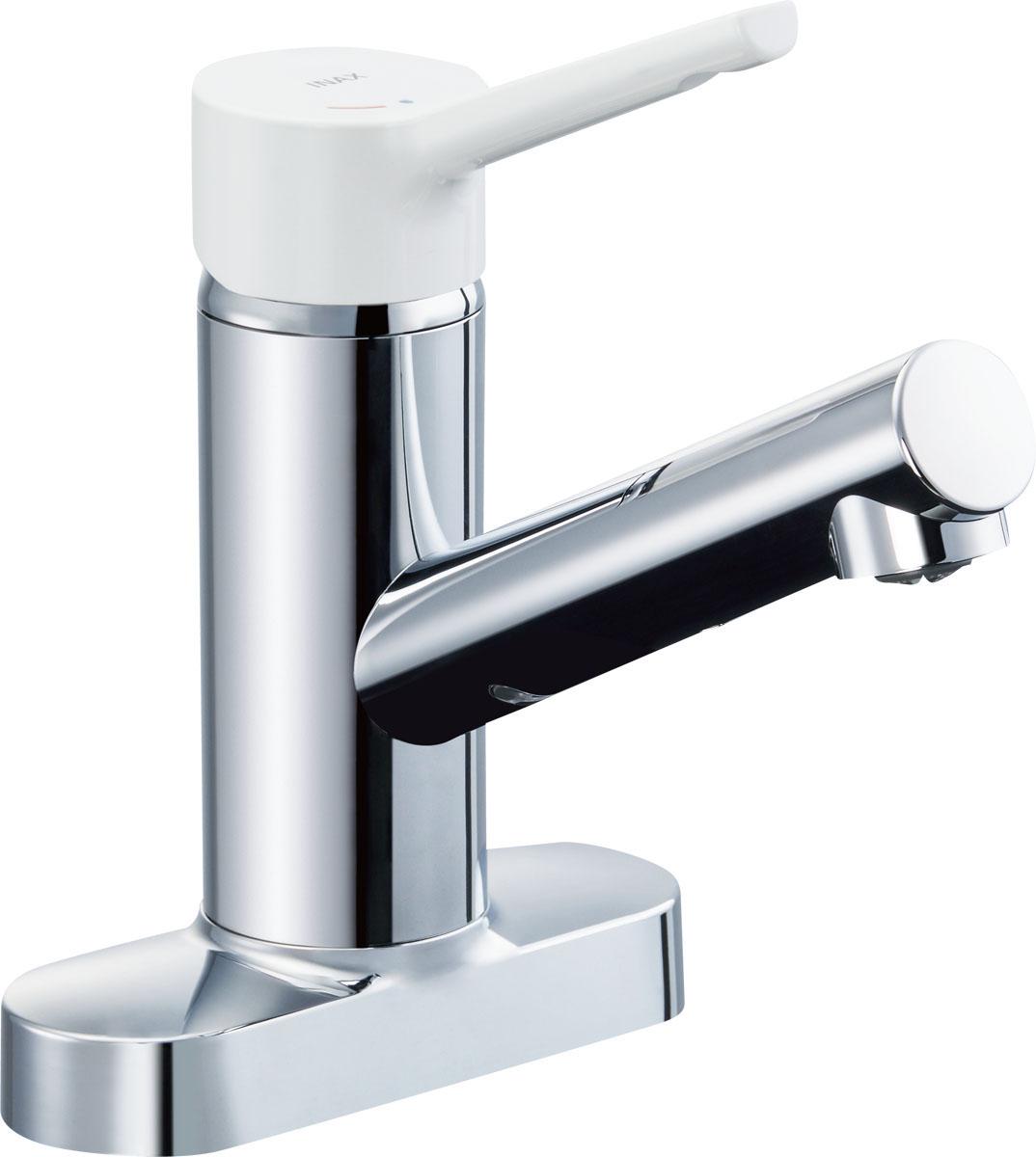 INAX LIXIL キッチン水栓 SF-WL438SYN (155) キッチン用水栓金具 ツーホールタイプ ノルマーレS (ミニキッチン用) シングルレバー混合水栓 寒冷地対応商品 [イナックス・リクシル]