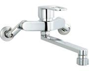 【SF-WM432SY】INAX LIXIL・リクシル キッチン用水栓金具壁付タイプ キッチンシャワー付 クロマーレS(エコハンドル)[新品]