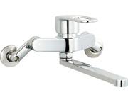 SF-WM435SY (170) INAX LIXIL リクシル キッチン用水栓金具壁付タイプ シングルレバー クロマーレS (エコハンドル)
