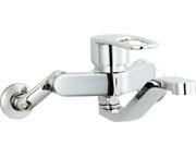 SF-WM436SYN INAX LIXIL リクシル キッチン用水栓金具壁付タイプ シングルレバー クロマーレS (エコハンドル) 寒冷地対応