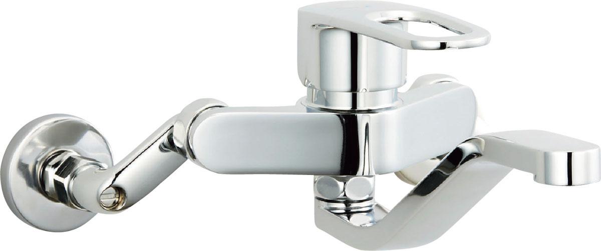 【SF-WM436SYZ】INAX LIXIL・リクシル キッチン用水栓金具 壁付タイプ シングルレバー混合水栓(簡易施工タイプ) クロマーレS[新品]