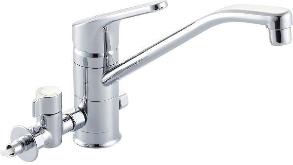 【SF-HB420SYXNBV】[寒冷地対応] INAX イナックス LIXIL・リクシル キッチン用水栓金具 ワンホールタイプ 分岐水栓 クロマーレ(エコハンドル)