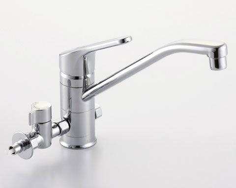 【SF-HB420SYXBV】INAX イナックス LIXIL・リクシル キッチン用水栓金具 ワンホールタイプ 分岐水栓 クロマーレ(エコハンドル)