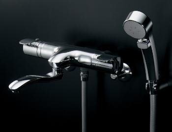 173-232 カクダイ シャワー混合水栓サーモスタット シャワー混合栓 水栓金具・水道材料