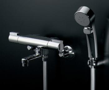 173-233 カクダイ シャワー混合水栓サーモスタット シャワー混合栓 水栓金具・水道材料