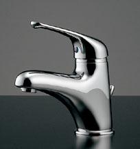 カクダイ シングルレバー混合栓 【183-039K】 水道材料