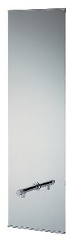 カクダイ 化粧鏡(横水栓つき) 207-550 水道材料 メーカー直送の為代引不可