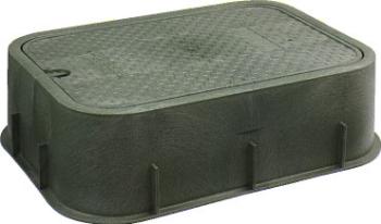 カクダイ 水力発電自動弁用ボックス 【504-010】 水道材料