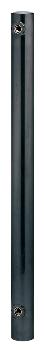 ステンレス水栓柱(丸型)//黒ニッケルメッキ 【624-042】 水道材料 カクダイ