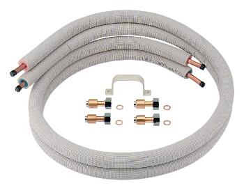 カクダイ 保温材つきペア銅管セット 【798-410-5】 水道材料