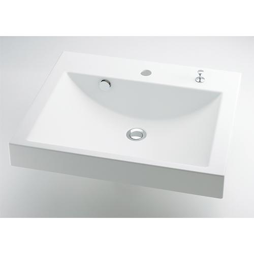 カクダイ 角型洗面器 493-072H 水道材料