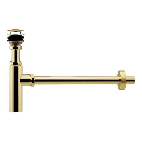 カクダイ ボトルトラップユニット (真鍮メッキ) 受注生産品 433-146-25