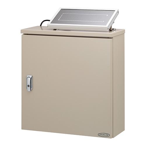 カクダイ 3チャンネルソーラー発電ユニット 504-047 大幅値下げランキング ステンレスボックス 購買