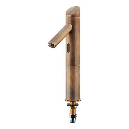 カクダイ センサー水栓 (トール) オールドブラス 受注生産品713-321-AB