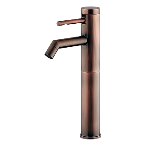 カクダイ シングルレバー立水栓 (ミドル・ブロンズ) 受注生産品716-271-BP