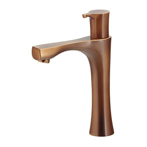 カクダイ 立水栓 (ミドル) オールドブラス 受注生産品716-851-AB