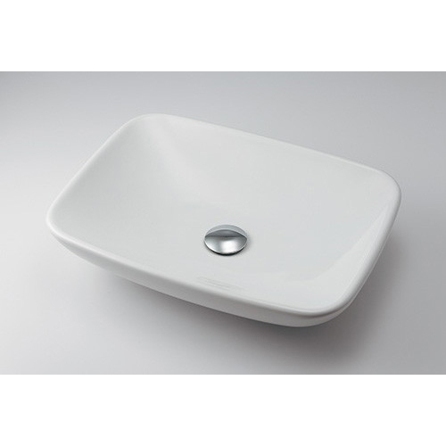 カクダイ LY-493218 角型洗面器 陶器製 [メーカー直送][代引不可] [沖縄・北海道・離島は送料別途必要]