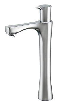 カクダイ 立水栓(トール) マットシルバー 受注生産品716-852-S[新品]