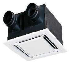 熱交換形換気扇 VL-250ZSD2 ダクト用ロスナイ天井埋込形 フラットインテリアパネル VL250ZSD2 三菱 換気扇 熱交換形換気扇 (ロスナイ)