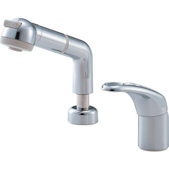 三栄水栓[SANEI] シングルスプレー混合栓(洗髪用)【K3761JK-C-13】【K3761JKC13】[新品]