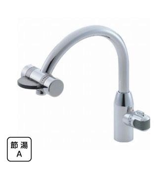 三栄水栓[SANEI] ミキシングワンホール混合栓(先止)【K8660V-13】【K8660V13】[新品]