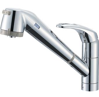 三栄水栓 SANEI シングル浄水器付ワンホールスプレー混合栓 K87680TJV-13 K87680TJV13