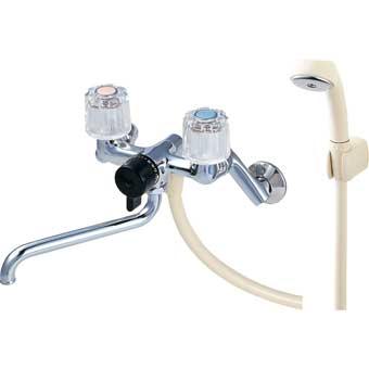 三栄水栓[SANEI] ツーバルブシャワー混合栓【CSK111-13】【CSK11113】[新品]