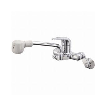 三栄水栓[SANEI] シングル切替シャワー混合栓【K270M-13】【K270M13】[新品]