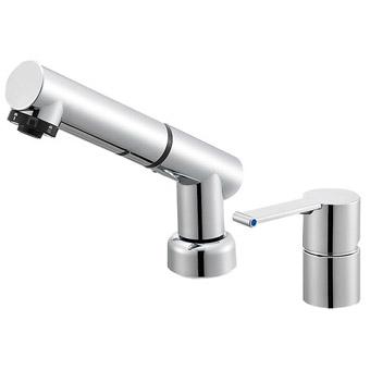 三栄水栓[SANEI] シングルスプレー混合栓(洗髪用)【K37510JVZ-13】【K37510JVZ13】[新品]