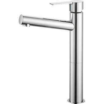 三栄水栓[SANEI] シングルワンホール洗面混合栓【K4750NV-2T-13】【K4750NV2T13】[新品]