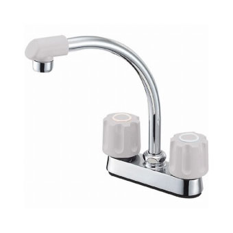 三栄水栓[SANEI] ツーバルブ台付混合栓【K71DK-LH-13】【K71DKLH13】[新品]
