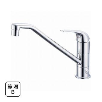 三栄水栓[SANEI] シングルワンホール分岐混合栓【K87010BJV-13】【K87010BJV13】[新品]