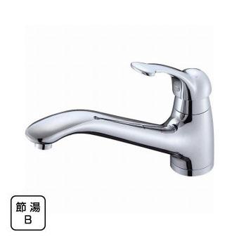 三栄水栓[SANEI] シングルワンホール混合栓【K87710JK-13】【K87710JK13】[新品]