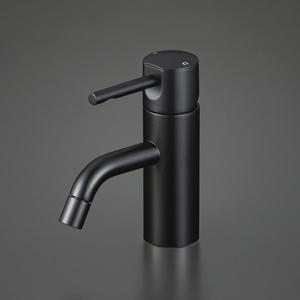 【KM7021M5】KVK ケーブイケー 洗面用シングルレバー混合栓 マットブラック