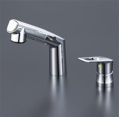 KVK シングルレバー式洗髪シャワー (eレバー) KM5271TEC