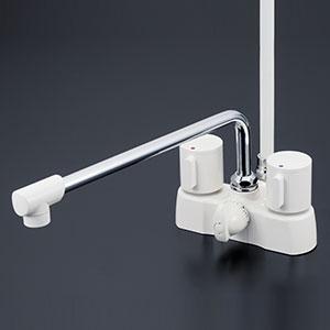 KVK 浴室 【KF2008G3R3】 デッキ形2ハンドルシャワー [新品]