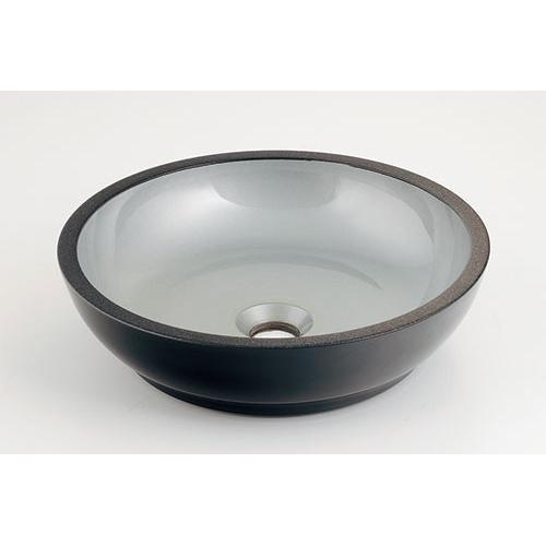 カクダイ KAKUDAI 丸型手洗器 銀砂 493-068-S 水栓金具・器
