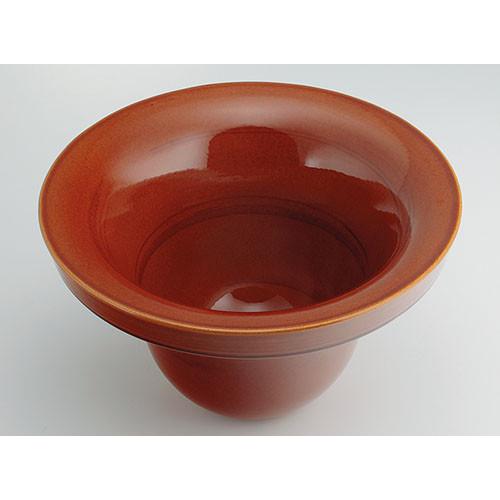 カクダイ KAKUDAI 丸型手洗器 飴 493-099-BR 水栓金具・器