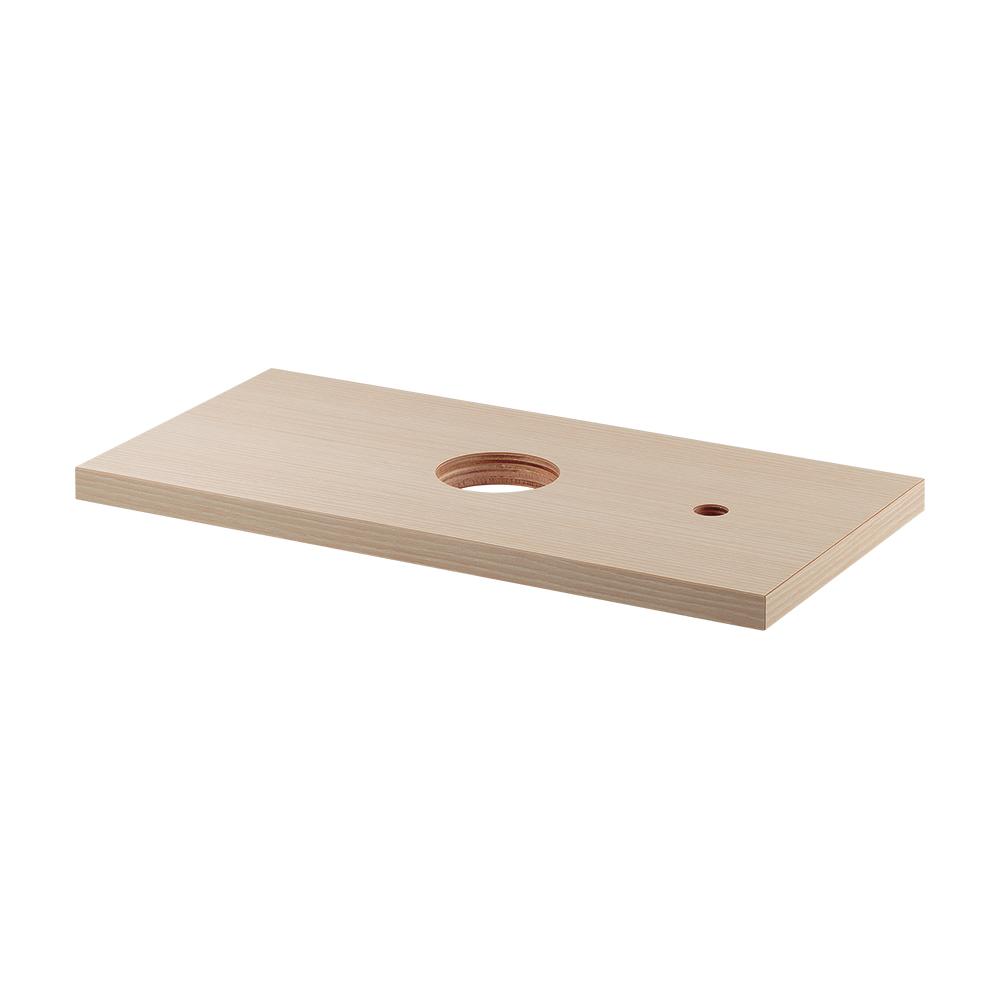 カクダイ KAKUDAI 手洗カウンター ライトウッド 497-055-C 水栓金具・器